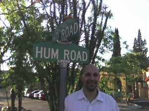 At the intersection of Ho and Hum.
